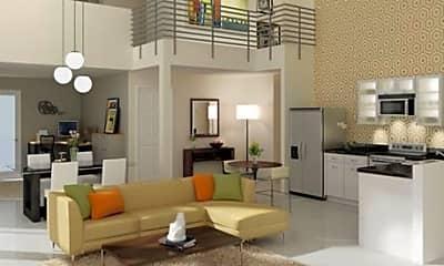 Living Room, Bixel at Fifth, 2