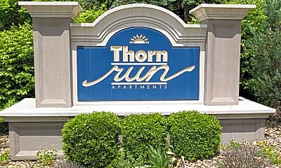 Community Signage, Thorn Run Apartments, 2