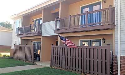Building, Woodgate Apartments, 1