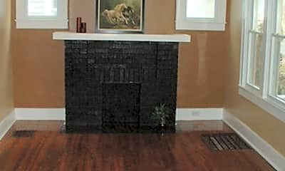 Living Room, 4303 South Third Street, 1