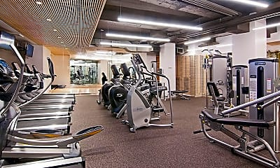 Fitness Weight Room, 45 Wall St 421, 2