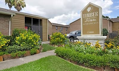 Building, Timber Run, 2