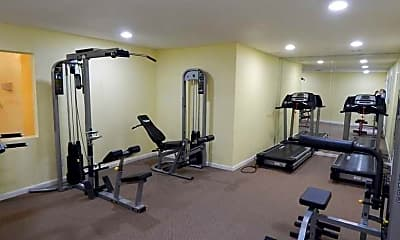Fitness Weight Room, The Establishment at 1800, 2