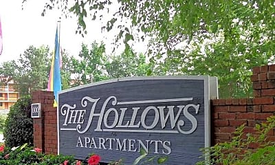 Community Signage, The Hollows, 1