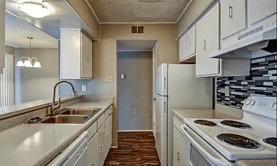 Kitchen, Richland Springs Apartments, 1