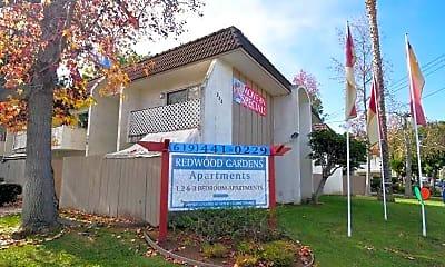 Community Signage, Redwood Gardens, 1