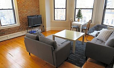Living Room, 1540 Tremont St, 1