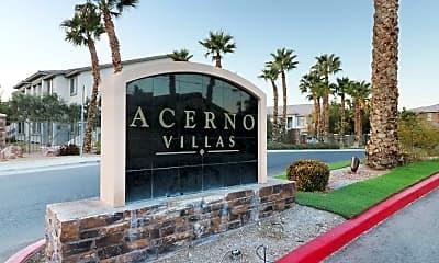 Community Signage, Acerno Villas Apartment Homes, 2