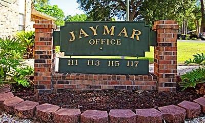 Community Signage, Jaymar Apartments, 2