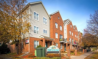 Community Signage, Four Seasons Apartments, 0