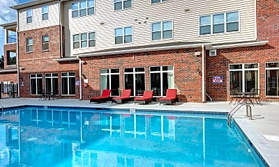 Pool, The Reserve At Greensboro - Per Bed Lease, 2