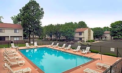Pool, Collier Village Apartments, 0
