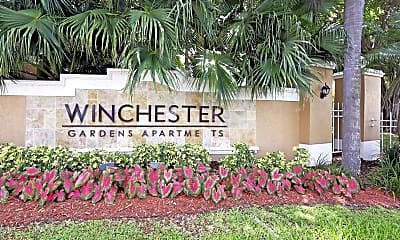 Community Signage, Winchester Apartments, 2