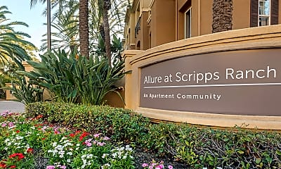 Community Signage, Allure at Scripps Ranch, 1