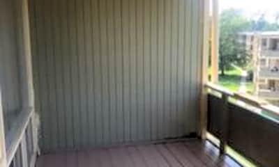 Patio / Deck, 7248 Donnell Pl D-5, 2