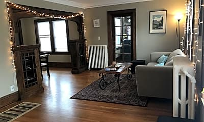 Living Room, 1883 St Clair Ave, 1