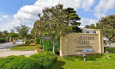 Community Signage, Audubon Gates, 2