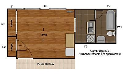 Living Room, 4917 McPherson Ave, 1
