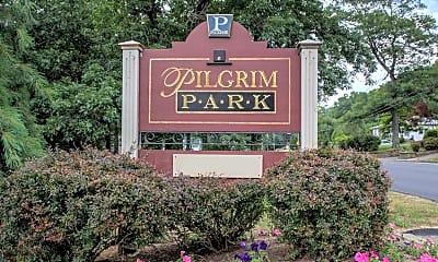 Community Signage, Pilgrim Park, 0