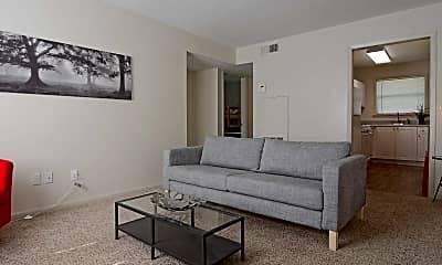 Living Room, Cascade Oaks, 1
