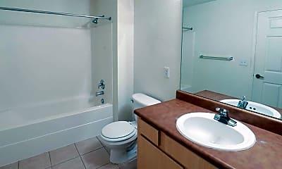 Bathroom, Fieldstone Apartments, 2