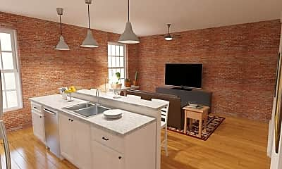 Kitchen, Spencer's Mill Apartments, 0