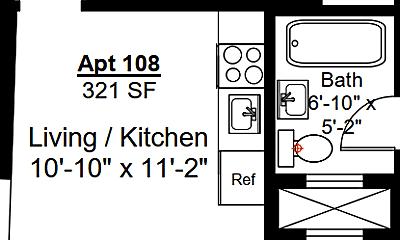 Kitchen, 105 Summer St, 1