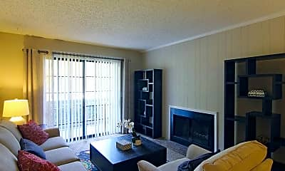 Living Room, The Chimneys at Brookfield, 1