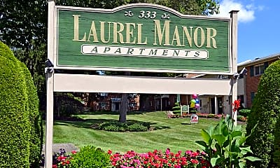 Community Signage, Laurel Manor, 2