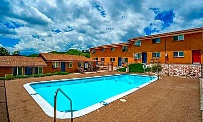 Pool, Paloma Terrace Apartments, 0