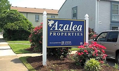 Community Signage, Azalea Properties, 2