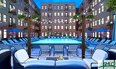 Pool, 630 Indian St 2BR, 1