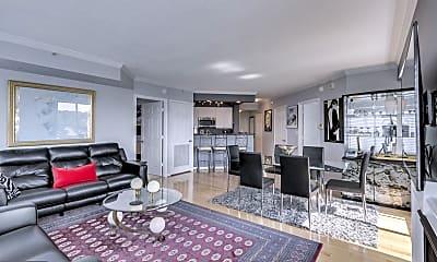 Living Room, 3101 N Hampton Dr 1104, 0