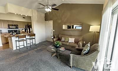 Living Room, 8818 Travis Hills Drive, 0