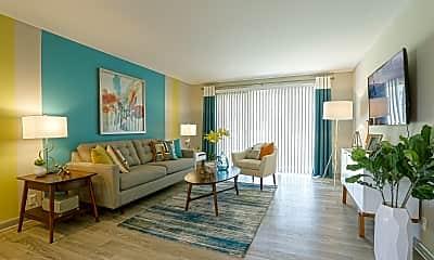 Living Room, Views at Hillwood I & II, 0