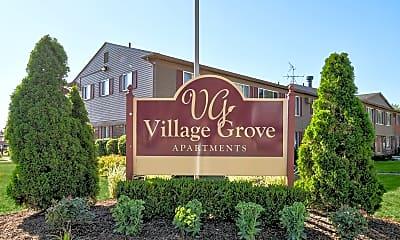 Community Signage, Village Grove Apartments, 2