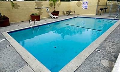 Pool, El Conquistador Apartments, 2