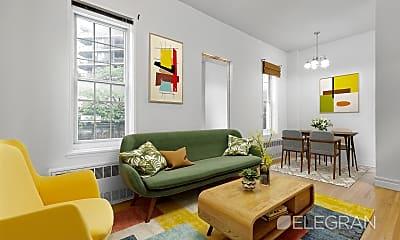 Living Room, 172 E 61st St 2-C, 0