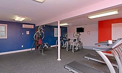 Fitness Weight Room, Bullocks Point, 2