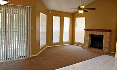 Living Room, Towering Oaks, 1