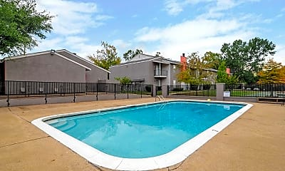 Pool, Oak Manor, 1
