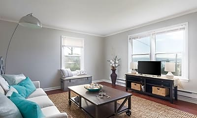 Living Room, Seaglass Village Apartments, 2