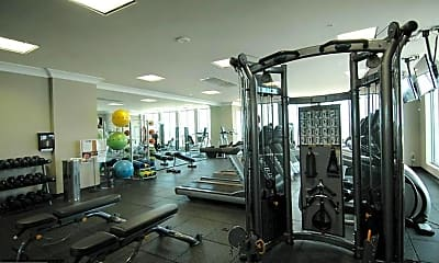 Fitness Weight Room, 851 N Glebe Rd 1116, 2