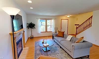 Living Room, 5418 NE 25th Ave, 1