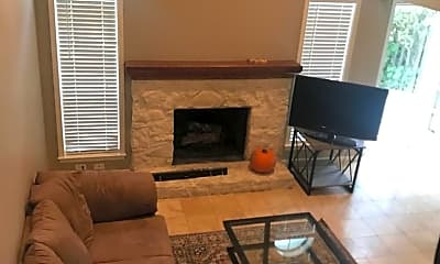 Living Room, 402 Towne Park Trail, 1