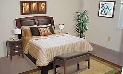 Bedroom, Cunningham Apartments, 2