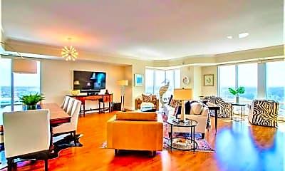 Living Room, 4545 Commerce St 2704, 1