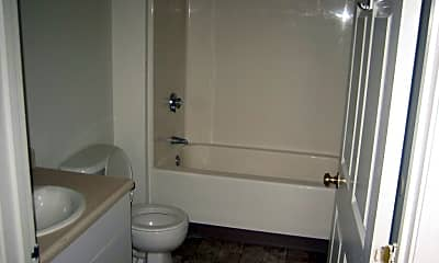 Bathroom, Pine View Apartments, 2