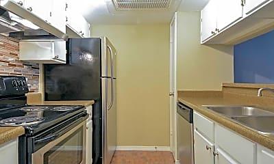 Kitchen, Sungate Apartments, 0