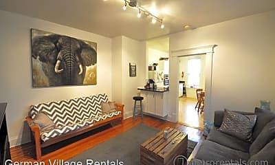 Living Room, 456 E Sycamore St, 1